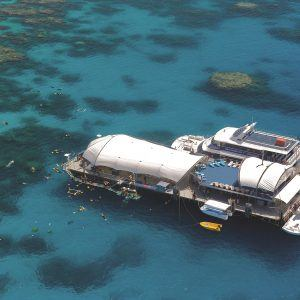 Cairns Great Barrier Reef Pontoon